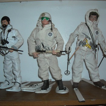 GI Joe Ski Patrol and Mountain Troops - Toys