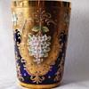 Blue Vase -- Need Member's Help @ ID - Moser/Nippon???