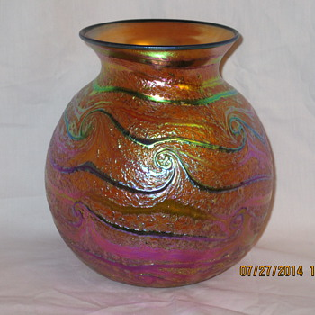 David Lotton Vase - Art Glass