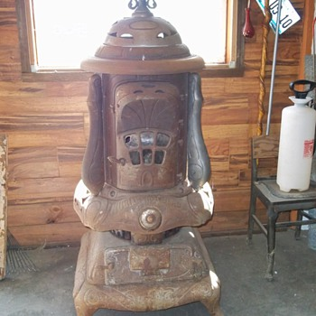1888 Indianapolis Stove Company Wood Stove Complete-J B Howard Patent -Great Restoration project