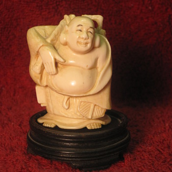 Ivory Buddha   - Asian