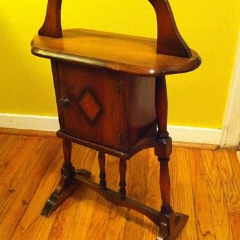 1920's - 1930's Humidor/Smoking Stand - Furniture