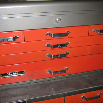 1950's RemLine Top Chest & Bottom Roller - Tools and Hardware