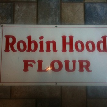 Robin Hood Flour Porcelain Sign