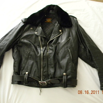 My Grandma's Harley Davidson leather jacket - Motorcycles