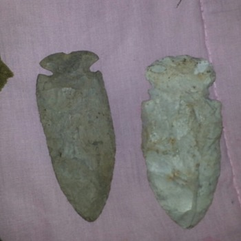 Arrowheads found in gaffney sc - Native American