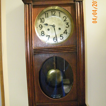 A German Box Clock?? - Clocks