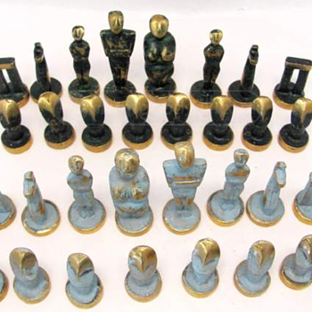 Mystery Cycladic Chess Set / Isle of Euboea ?