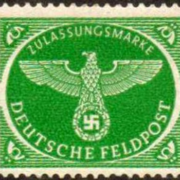 1944 - Germany Military Parcel Post Stamp