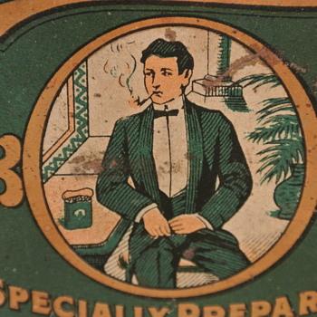 Patterson's Tuxedo and Scotten Dillon Co. Peachey Tobacco Tins - Tobacciana