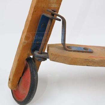 Vintage Wooden Push Scooter (pre-skateboarding skateboard!)