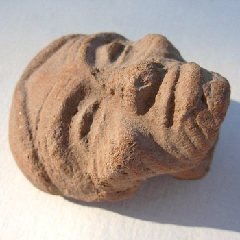 Old sandstone head carving and has been put away for years?!  - Visual Art