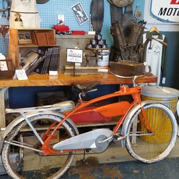 Great find of an Elgin bicycle on trash day! - Sporting Goods
