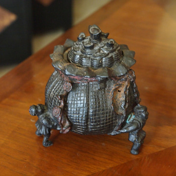 Asian Turnip Censer  - Asian