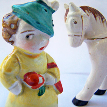 A Lady and Her Pony , Perfectly Matched Pair that's not a match! - Kitchen