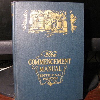 The Commencement Manual copyright 1943  Possible Truman Connection? - Books