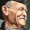 d. vassiliou watercolor of a old man