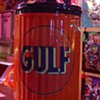 Restored Ten Gallon Oil Can...Theme Is Gulf