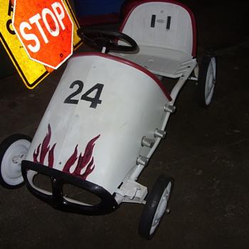 60s amc pedal car