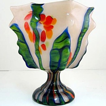 "Satire About Ebay Item QUOTE ""Kralik Welz Ruckl Art Deco Moulded Czech"" Glass For Sale....lol"