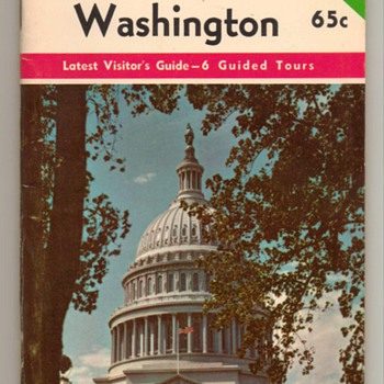 Prince's Guide Book of Washington (DC)  - Paper