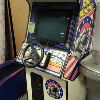 Rad Mobile 1991 By Sega      Arcade Coin-Op - Games