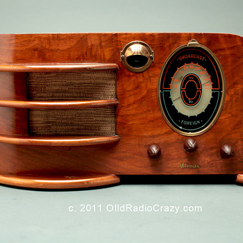 Art Deco Climax Model 60 Tube Radio  - Radios
