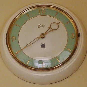 Schatz Art Deco Wind-Up Clock