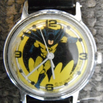 Timex Batman Wrist Watch Circa 1978
