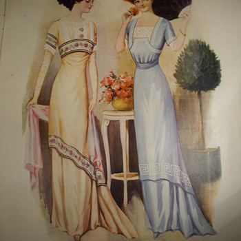 1909 Fashion Plates. - Womens Clothing