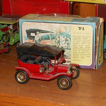 Matchbox Ford Model T Models of Yesteryear Y1