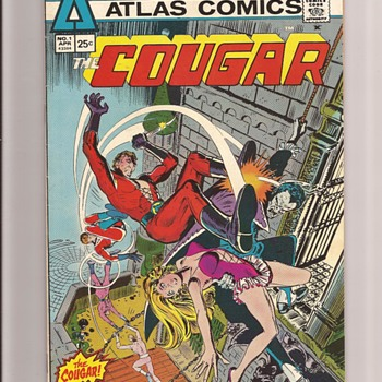 Atlas Comics first issues