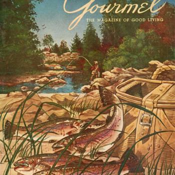 1954 - Gourmet Magazine Cover