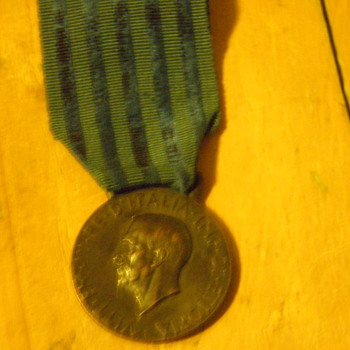 Italian Medal 1936  - Military and Wartime