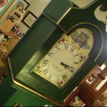 My Favorite Tall Case Wild Rose Clock
