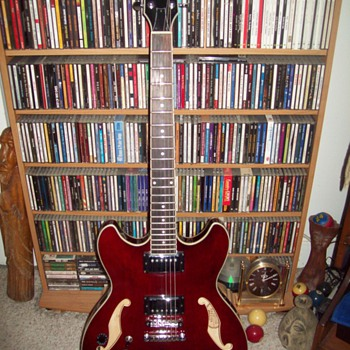 My New Ibanez Artcore AS73L Guitar - Guitars