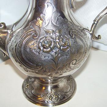 Tante Fina's Silver Teapot - Sterling Silver