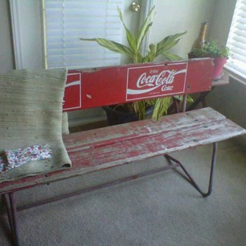 Coke Bench - Coca-Cola