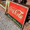"Coca Cola 1936 ""Bulletin"" Metal Sign"
