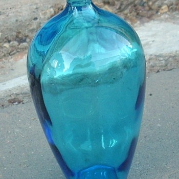 Little blue bottle. - Bottles