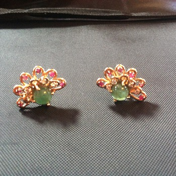 exotic vintage cufflinks - Fine Jewelry