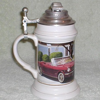 Mustang 30th Anniversary Stein