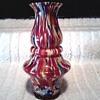 Czechoslovakian Art Deco (Kralik /Ruckl ?) Export Vase / Circa 1920-1930