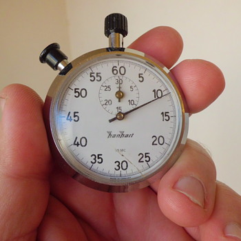 Garage Sale Hanhart German stopwatch