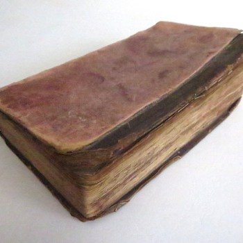 c.1732 One Of My Oldest Books