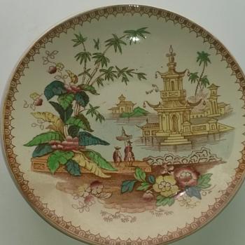 Oriental Saucer - Asian