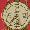 Schatz standard 400 day clock with cream color painted finish