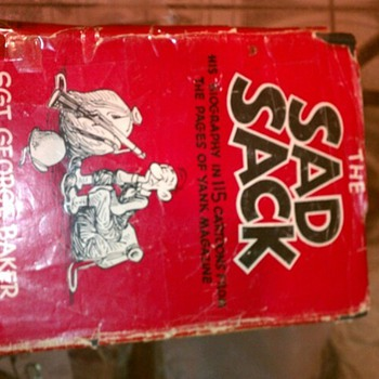 Sad Sack, Sarge Snorkel, Beetle Bailey comics and a Hard Copy.  - Comic Books
