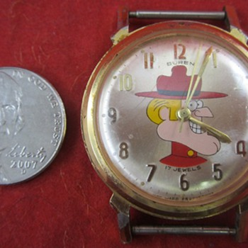 Jay Ward Dudley Do Right Watch - Wristwatches