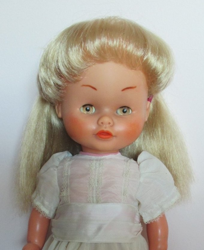 My Spanish Famosa Doll Before And After 60 S 70 S